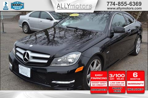 2012 Mercedes-Benz C-Class for sale in Whitman, MA
