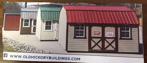 Old Hickory Buildings Sheds New Colors Available for sale in Sioux City, IA