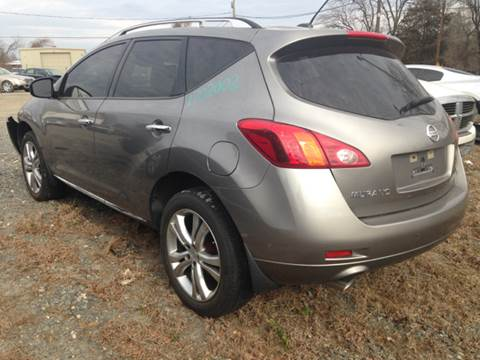 2009 Nissan Murano for sale in Charlotte, NC