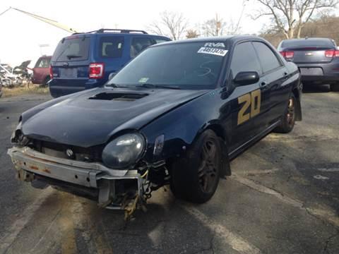 2002 Subaru Impreza for sale at ASAP Car Parts in Charlotte NC