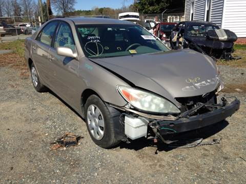 2004 Toyota Camry for sale at ASAP Car Parts in Charlotte NC
