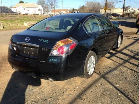 2009 Nissan Altima for sale at ASAP Car Parts in Charlotte NC