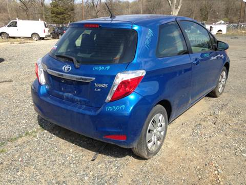 2012 Toyota Yaris for sale at ASAP Car Parts in Charlotte NC