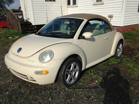 2005 Volkswagen New Beetle for sale at ASAP Car Parts in Charlotte NC