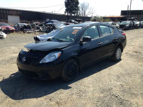 2013 Nissan Versa for sale at ASAP Car Parts in Charlotte NC
