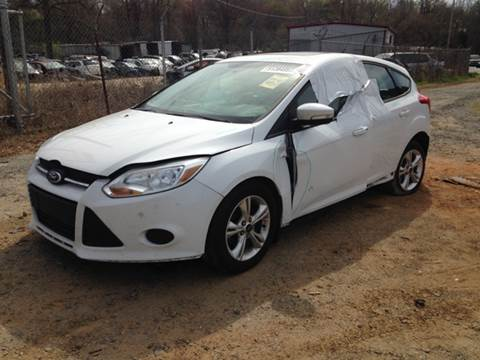2013 Ford Focus for sale at ASAP Car Parts in Charlotte NC