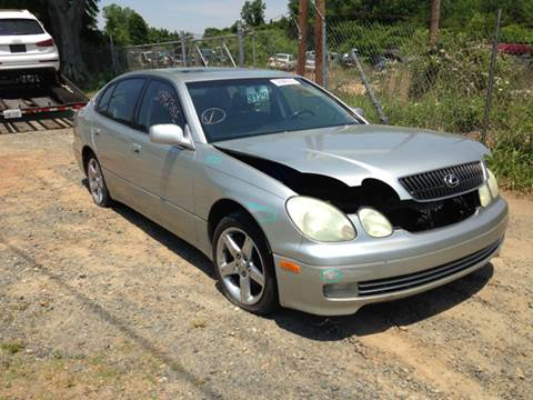 2001 Lexus GS 300 for sale at ASAP Car Parts in Charlotte NC