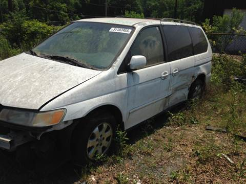 2002 Honda Odyssey for sale at ASAP Car Parts in Charlotte NC