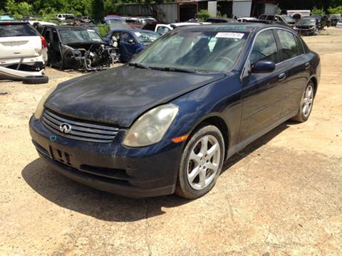 2003 Infiniti G35 for sale at ASAP Car Parts in Charlotte NC