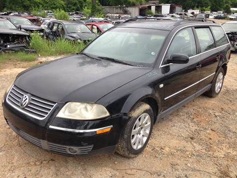 2002 Volkswagen Passat for sale at ASAP Car Parts in Charlotte NC