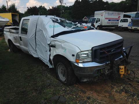 2002 Ford F-350 Super Duty for sale at ASAP Car Parts in Charlotte NC