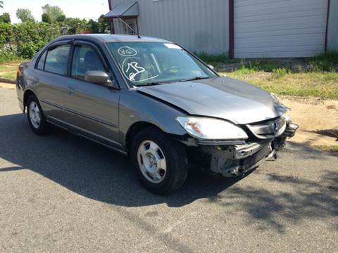 2004 Honda Civic for sale at ASAP Car Parts in Charlotte NC