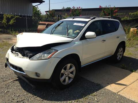 2006 Nissan Murano for sale at ASAP Car Parts in Charlotte NC