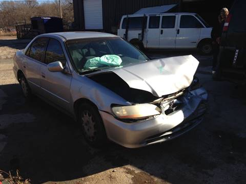 2001 Honda Accord for sale at ASAP Car Parts in Charlotte NC