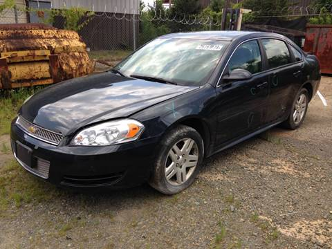 2015 Chevrolet Impala Limited for sale at ASAP Car Parts in Charlotte NC