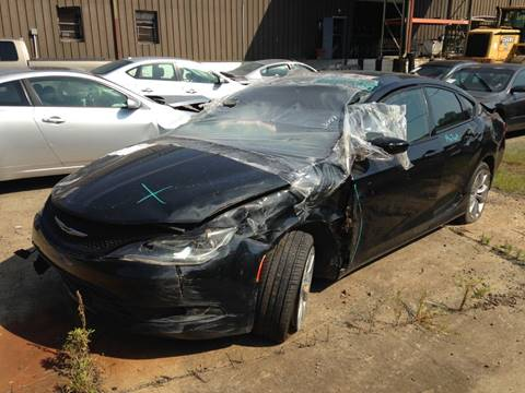 2015 Chrysler 200 for sale at ASAP Car Parts in Charlotte NC