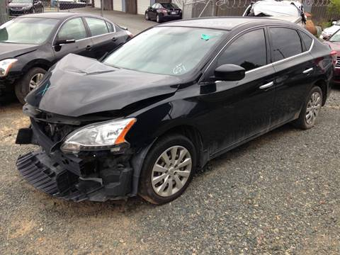 2014 Nissan Sentra for sale at ASAP Car Parts in Charlotte NC