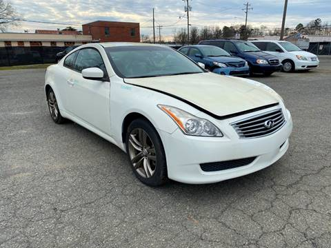 2010 Infiniti G37 Coupe for sale at ASAP Car Parts in Charlotte NC