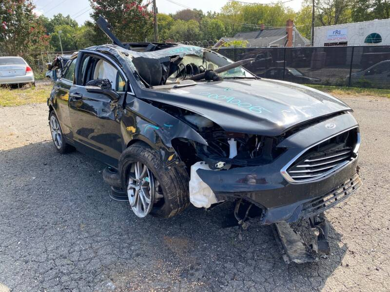 2019 Ford Fusion for sale at ASAP Car Parts in Charlotte NC