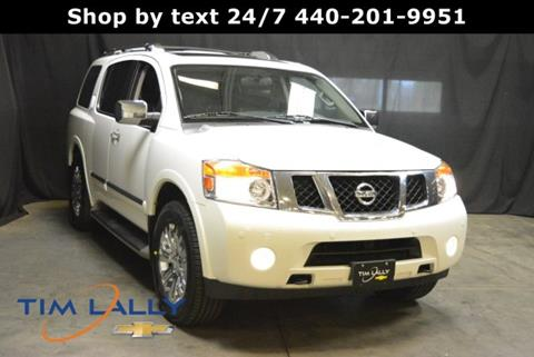 2015 Nissan Armada for sale in Warrensville Heights, OH