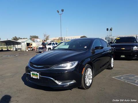 2015 Chrysler 200 for sale in Visalia, CA