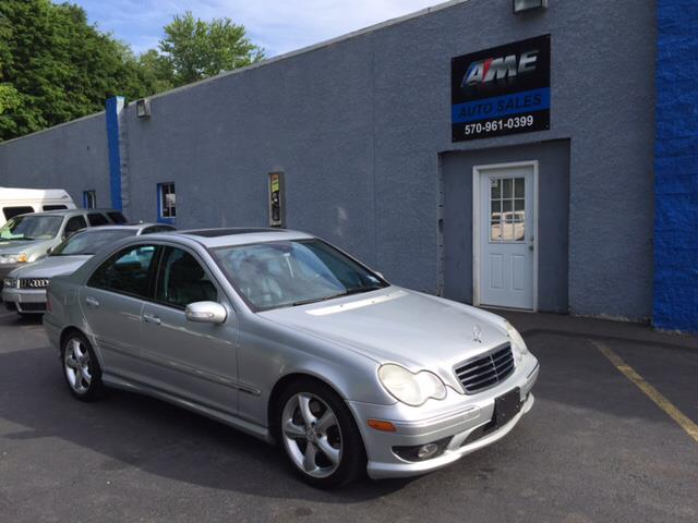 2006 mercedes benz c class c230 sport 4dr sedan in scranton pa ame auto. Black Bedroom Furniture Sets. Home Design Ideas