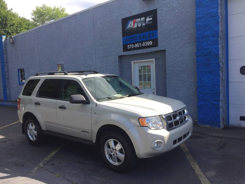 2008 Ford Escape for sale at AME Auto in Scranton PA
