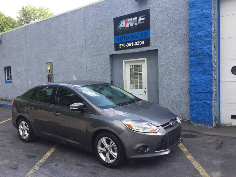 2013 Ford Focus for sale at AME Auto in Scranton PA