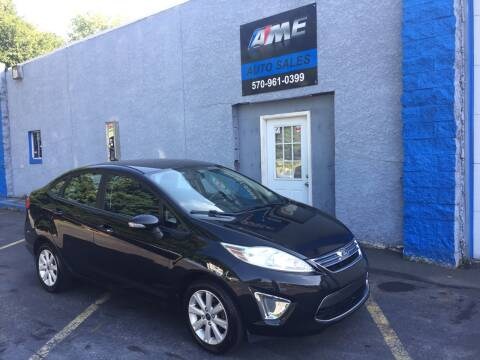 2011 Ford Fiesta for sale at AME Auto in Scranton PA