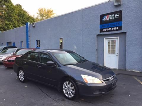 2007 Honda Accord for sale in Scranton, PA