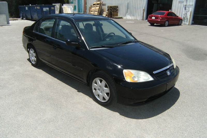 2001 Honda Civic EX 4dr Sedan   Largo FL