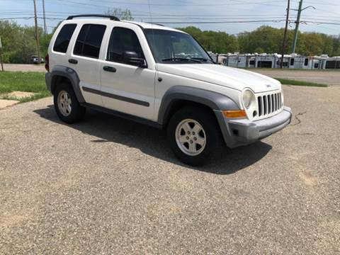 2006 Jeep Liberty for sale at ARG Auto Sales in Jackson MI
