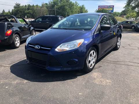 2012 Ford Focus for sale at ARG Auto Sales in Jackson MI