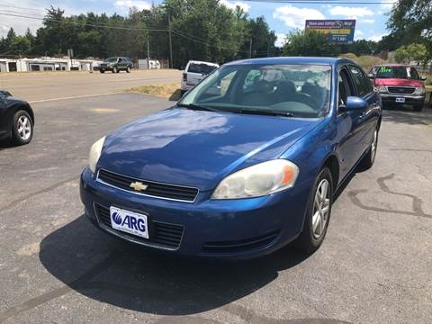 2006 Chevrolet Impala for sale at ARG Auto Sales in Jackson MI