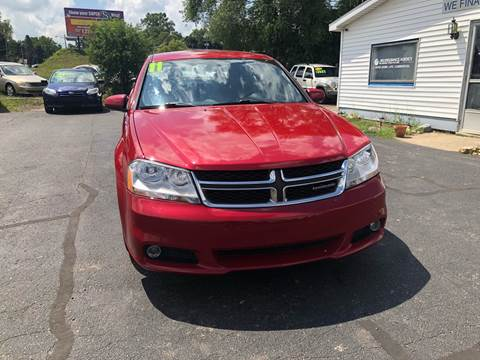 2011 Dodge Avenger for sale at ARG Auto Sales in Jackson MI
