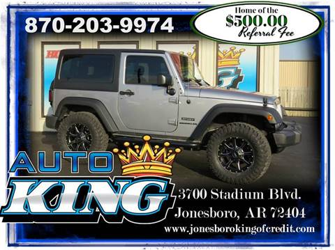2016 Jeep Wrangler for sale in Jonesboro, AR