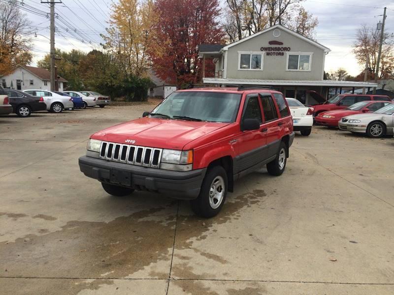 1993 Jeep Grand Cherokee 4dr Laredo 4WD SUV - Owensboro KY