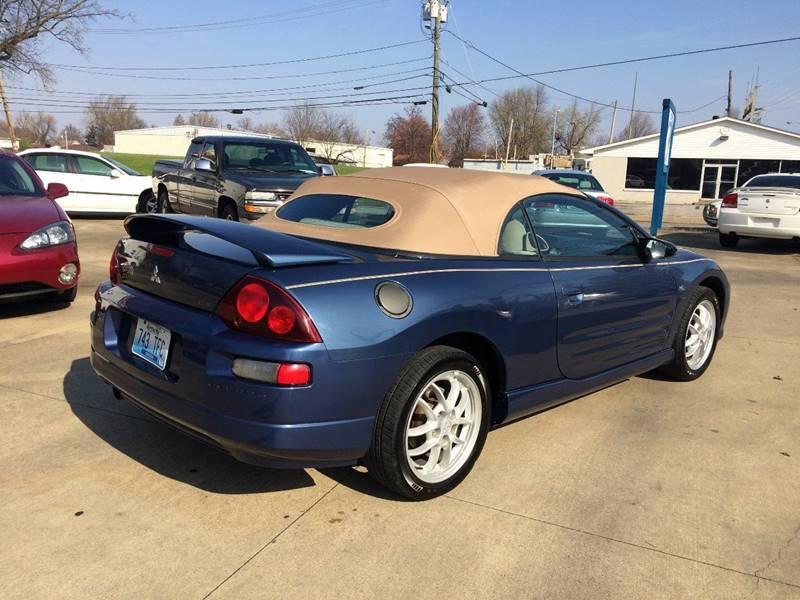 2002 Mitsubishi Eclipse Spyder GT 2dr Convertible - Owensboro KY