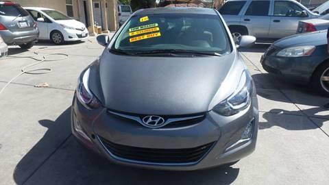 2016 Hyundai Elantra for sale at Golden Gate Auto Sales in Stockton CA