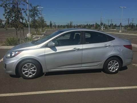 2013 Hyundai Accent for sale at Golden Gate Auto Sales in Stockton CA