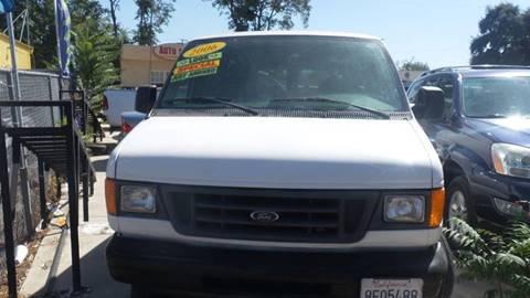 2006 Ford E-Series Cargo for sale at Golden Gate Auto Sales in Stockton CA
