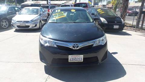 2012 Toyota Camry for sale at Golden Gate Auto Sales in Stockton CA