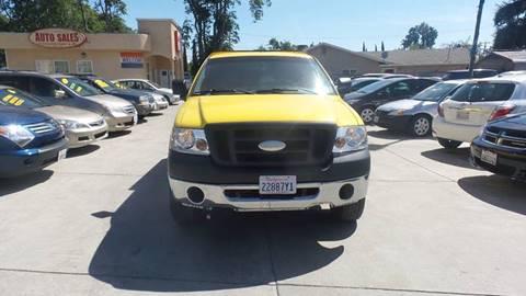 2006 Ford F-150 for sale at Golden Gate Auto Sales in Stockton CA