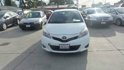 2012 Toyota Yaris for sale at Golden Gate Auto Sales in Stockton CA