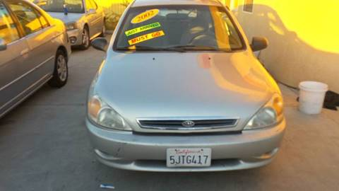 2002 Kia Rio for sale at Golden Gate Auto Sales in Stockton CA