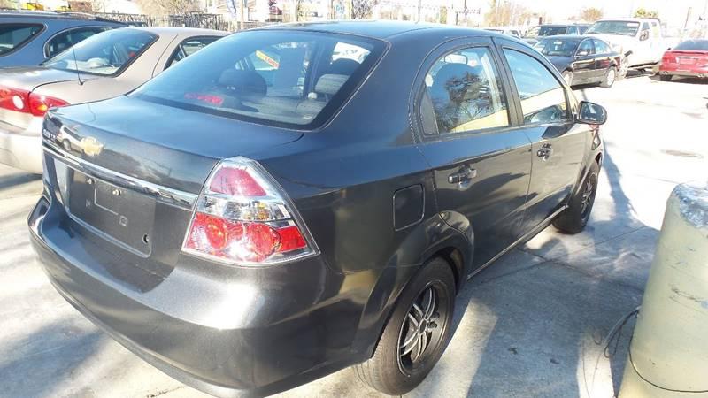 2011 Chevrolet Aveo for sale at Golden Gate Auto Sales in Stockton CA