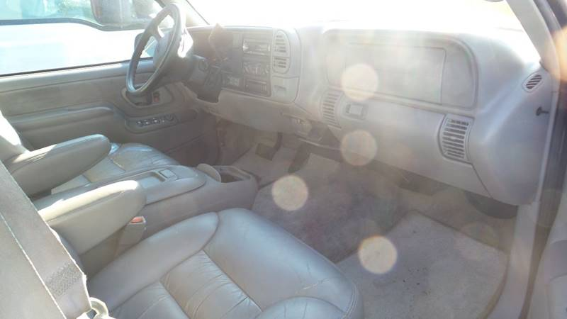 1999 Chevrolet C/K 1500 Series for sale at Golden Gate Auto Sales in Stockton CA