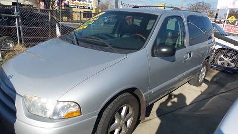 2001 Nissan Quest for sale at Golden Gate Auto Sales in Stockton CA