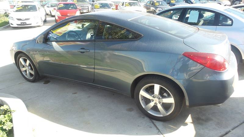 2006 Pontiac G6 for sale at Golden Gate Auto Sales in Stockton CA
