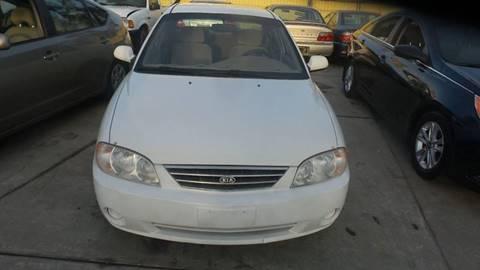 2004 Kia Spectra for sale at Golden Gate Auto Sales in Stockton CA
